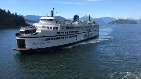 B.C. Ferries vessel, the Queen of Cowichan