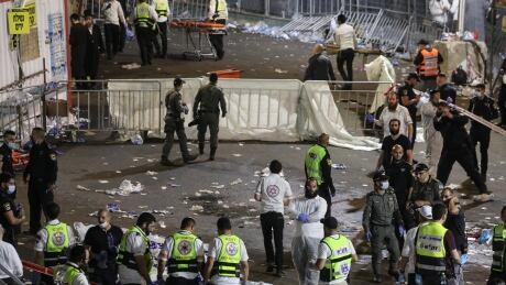 Dozens injured in stampede at religious gathering in Israel