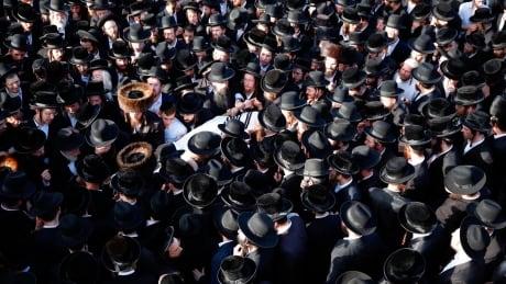 Israel Festival Stampede Gestetner funeral procession