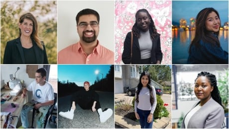 8 students on graduating during a pandemic