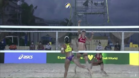 Canadians Pavan and Humana-Paredes edged by Brazil in Cancun's beach volleyball semis