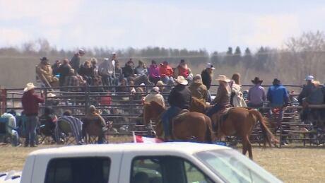 Bowden COVID rodeo