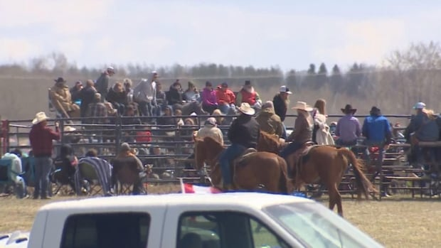 Alberta Health Services explores legal options after hundreds attend rodeo