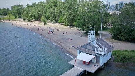 Toronto Beaches - Drone shots June 26