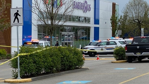 Police investigate shots fired at Langley mall