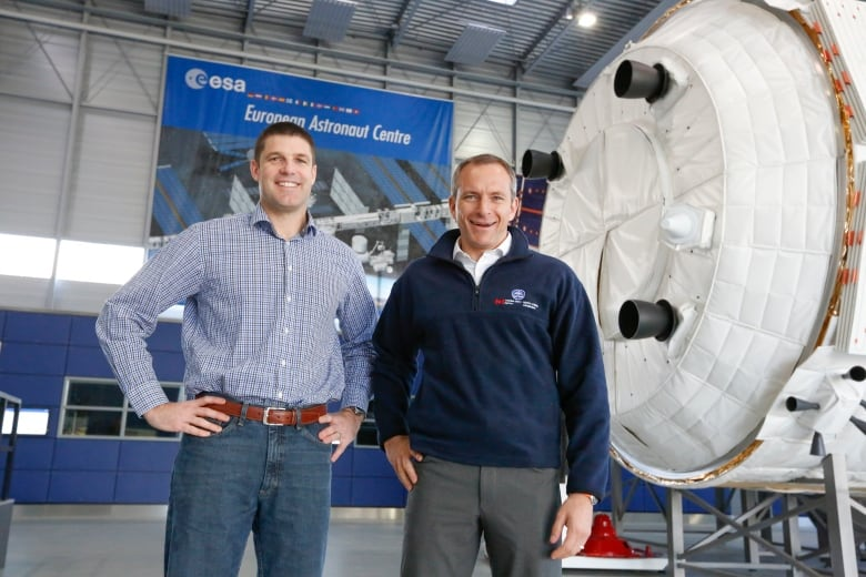 - jeremy hansen and david saint jacques esa training - Astronauts with disabilities can apply to Europe's space agency for 1st time