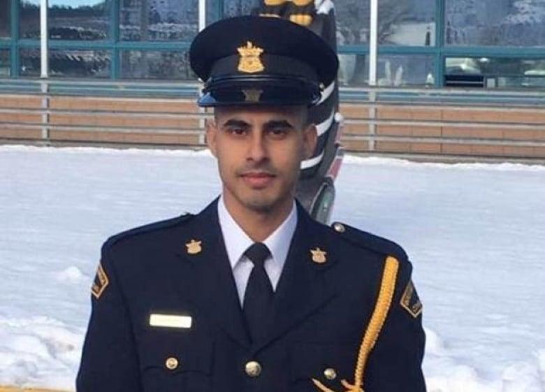 B.C. corrections officer Bikramdeep Randhawa was shot and killed in a busy Delta mall parking lot