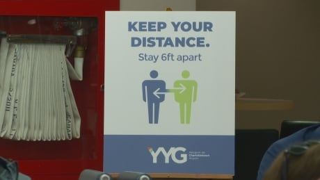 Keep your distance Signage