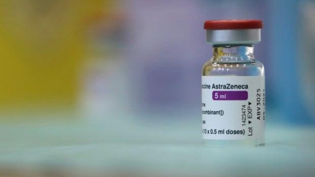 Manitoba sends 5,500 doses of AstraZeneca-Oxford vaccine back to Ottawa | CBC News