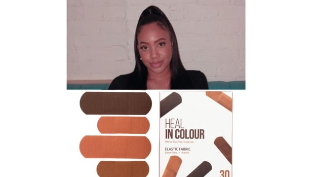 Toronto entrepreneur creates startup to offer bandages for black and brown skin tones | CBC News