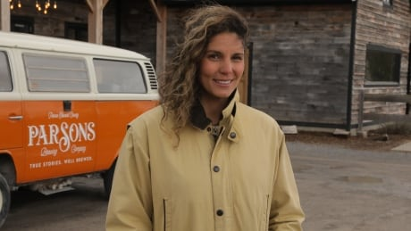 Samantha Parsons, owner of Parsons Brewing Company