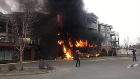 Submitted fire Citadel St. Albert retirement home