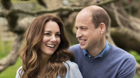 Prince William and Kate offer a fleeting glimpse of family life as they mark 10 years of marriage