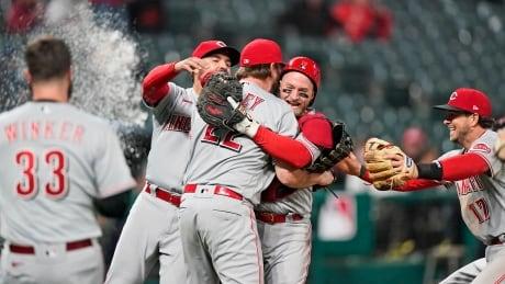 Reds Indians Baseball
