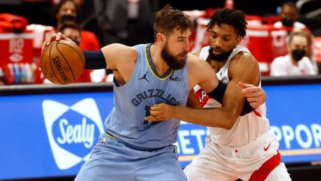 BASKETBALL-NBA-TOR-MEM/