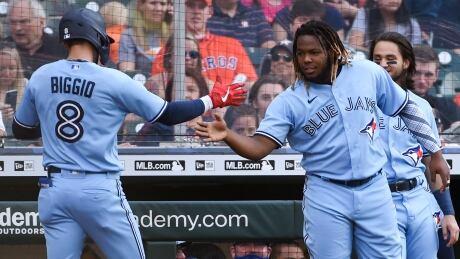 Blue Jays Astros Baseball