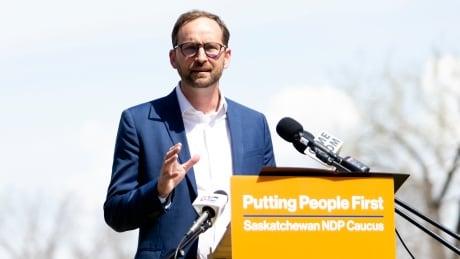 Saskatchewan NDP Leader Ryan Meili