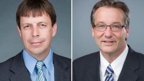 Todd Loewen and Drew Barnes