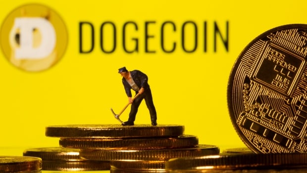 Dogecoin rallies, bitcoin sags as cryptos go up and down on Mr. Musk's wild ride