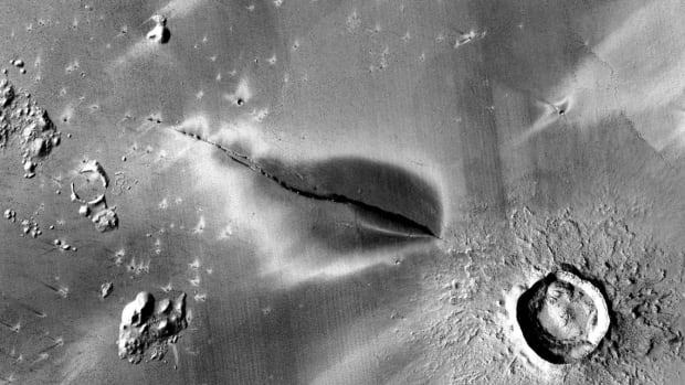 New evidence of recent volcanic activity on Mars raises the possibilities of subterranean life