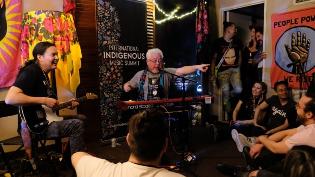 International Indigenous Music Summit moves to new online model, adds new element | CBC News