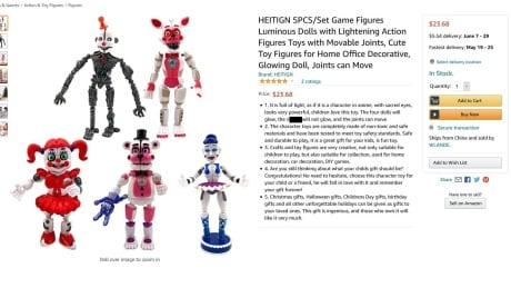 Amazon Toy with n-word