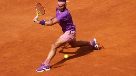 Nadal wins 500th career clay court match to advance to Rome Open final