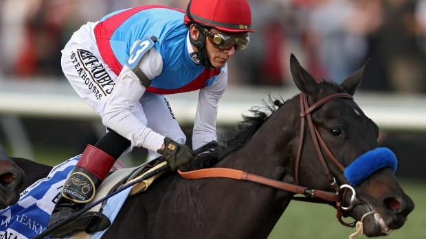 Controversial Kentucky Derby winner Medina Spirit barred from Belmont over banned substance