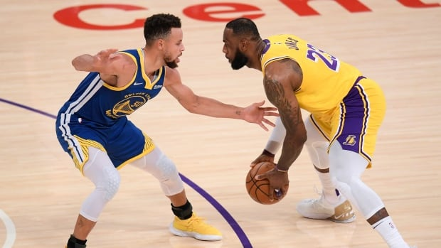It's LeBron vs. Steph in the NBA's 1st play-in tournament   CBC Sports