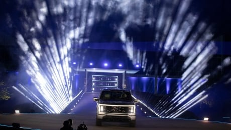 Unveiling of the all-electric Ford F-150 Lightning