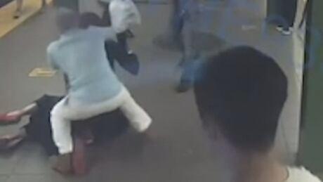 CBC Camera Operator New York Subway Stabbing