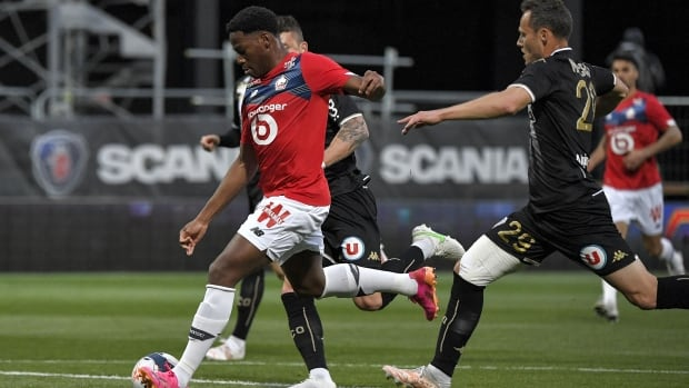 Rising Canadian soccer star Jonathan David lifts Lille to French Ligue 1 title win | CBC Sports