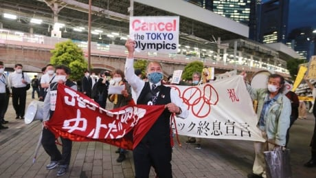 Japan Tokyo Olympics Protest