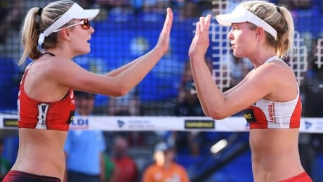 FIVB Women's Beach Volleyball World Tour on CBC - Kozuch/Ludwig (RUS) vs Megan/Nicole (CAN)