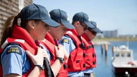 Coast Guard cadets