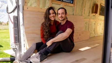 These Canadians are turning their van into a tiny home during the pandemic