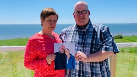 Nicolle Hogan and Scott Wilson, 2 of 3 children of Bob and Margi Wilson, in photo