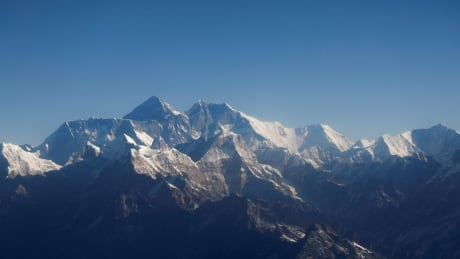 File photo of Mount Everest and other peaks of the Himalayan range