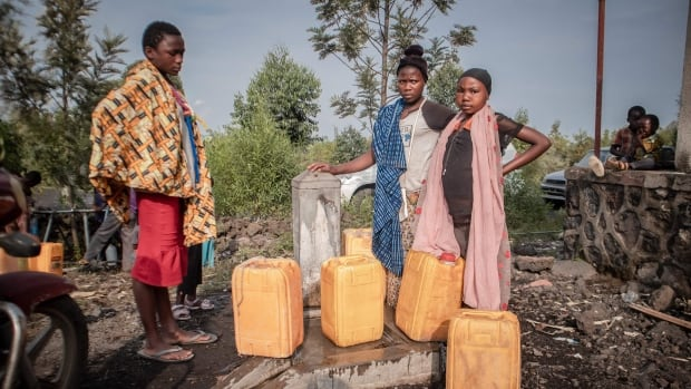 Congo's volcanic eruption has left 500,000 people with no clean water, says aid group