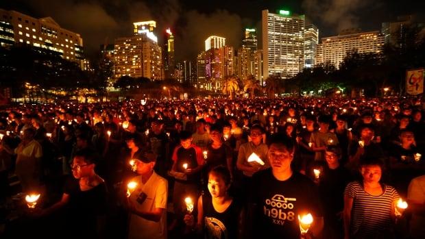 Hong Kong's TiananmenSquarevigil was a beacon of light for this historian. Now, she senses a familiar fear