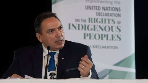 Despite challenges, outgoing AFN Chief Perry Bellegarde looks forward to 'shared future'   CBC News