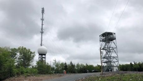 East Gore weather radar site
