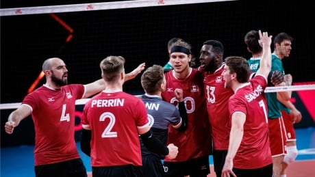 Canada men's volleyball team