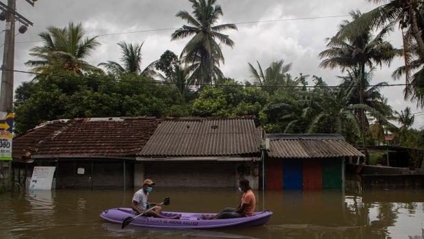 Floods, mudslides leave at least 6 dead in Sri Lanka   CBC News