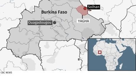 Burkina Faso Map June 5 2021
