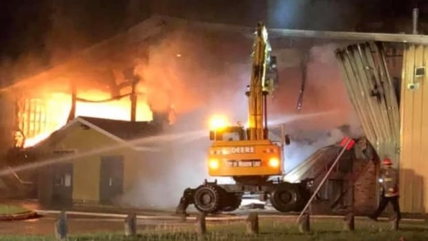 Meadow Lake community devastated after arena sustains major damage following fire