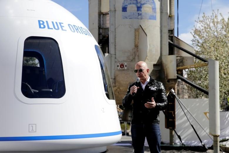 space exploration blueorigin