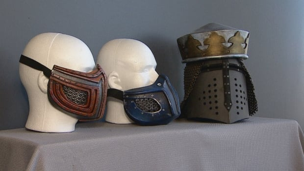 Calgary company goes medieval on cosplay world with lightweight, foam chain mail