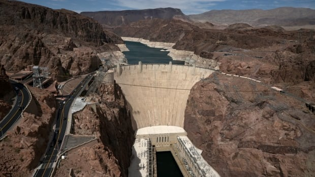 Hoover Dam reservoir hits record low water level amid extreme drought