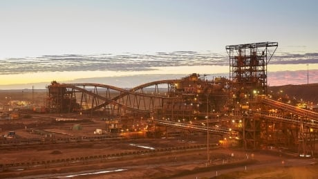 Christmas Creek Fortescue ore processing